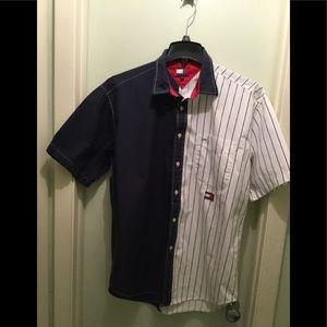 Tommy Jeans Vintage Men's Baseball Shirt